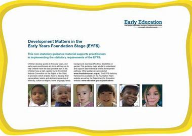 Image result for Development Matters in the Early Years Gird