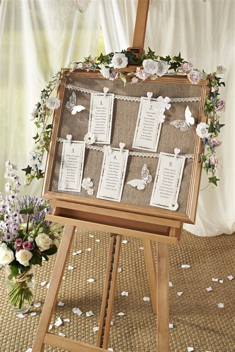 how to make a vintage wedding table chart hobbycraft blog