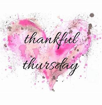 Image result for Thankful Thursday