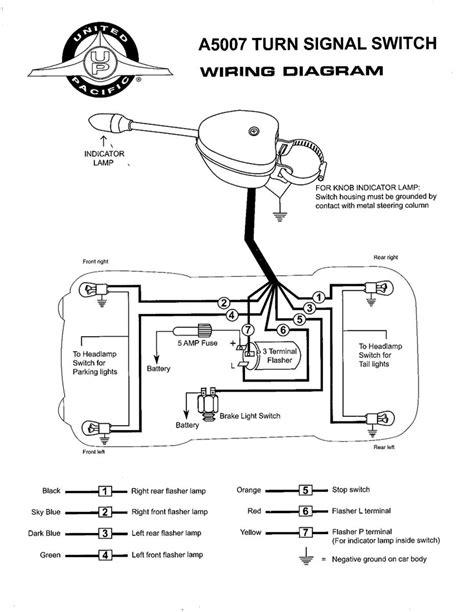 grote turn signal switch wiring diagram circuit diagram