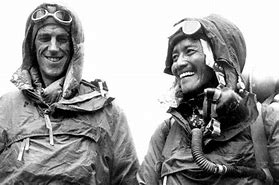 Image result for Edmund Hillary and Sherpa Tenzing Norgay