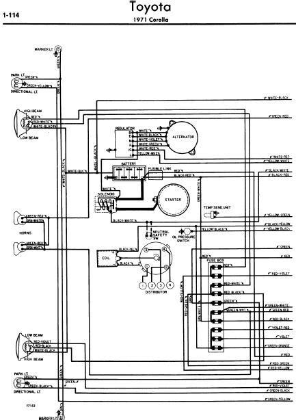 toyota corolla wiring diagrams online manual sharing