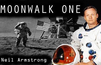 Resultado de imagen de Neil Armstrong  en la Luna