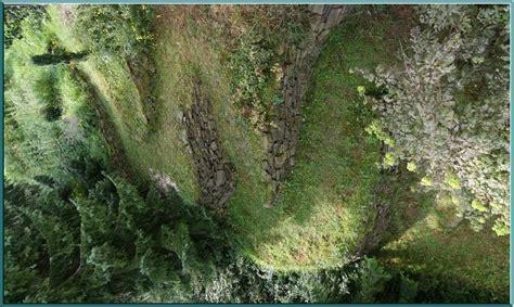 serpentinen hangbefestigung terassen wilde landschaften
