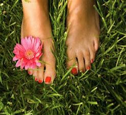 Image result for feet on grass