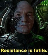 Image result for resistance is futile