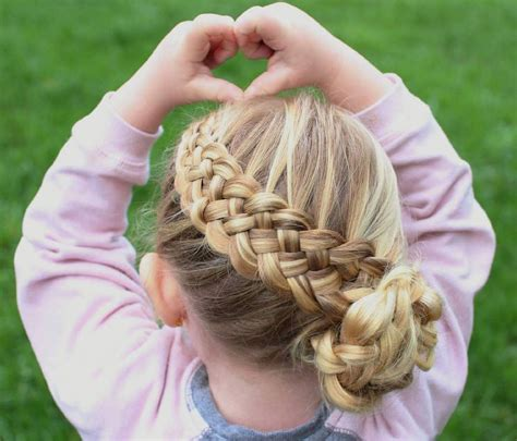 pretty fun and funky braids hairstyles for kids