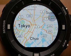 スマートウォッチgps地図 に対する画像結果