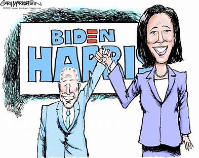 Image result for Joe Biden AND KAMELLA CARTOON