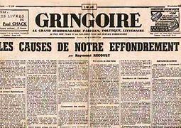 Résultat d'images pour journal '' gringoire ''