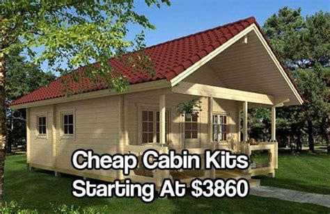 the best cheap log cabin kits ideas on pinterest