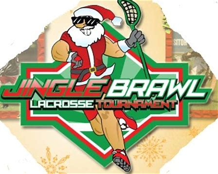 Image result for jingle brawl lacrosse tournament logo florida