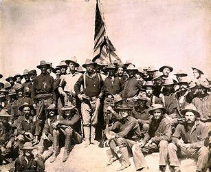 Image result for spanish american war rough riders