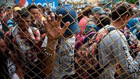 Image result for chaos on mexican border