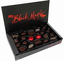 Image result for copy right free pictures of black magic chocolates