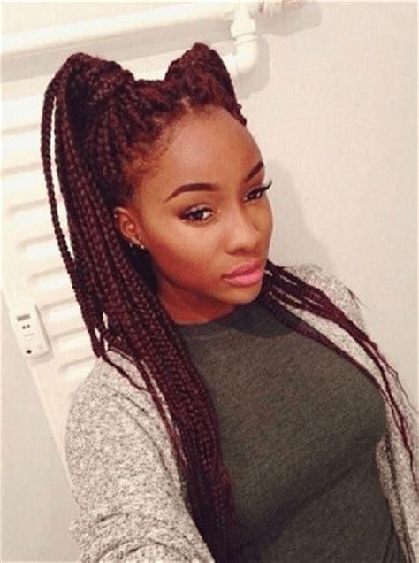 BRAIDED HAIRSTYLES FOR BLACK WOMEN TRENDING