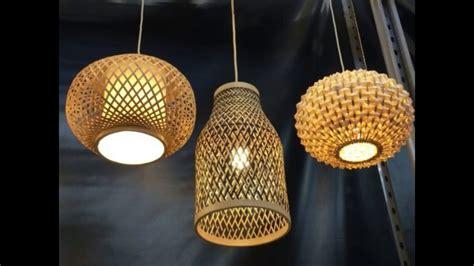 diy beautiful bamboo lamp shades youtube