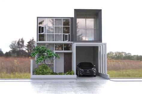 desain rumah x rumah lantai minimalis modern