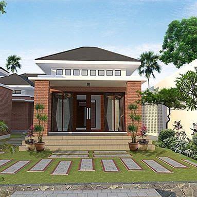 model rumah minimalis sederhana tampak depan di