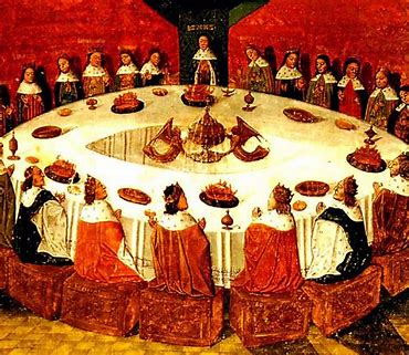 Image result for king arthur's knights of the round table python images