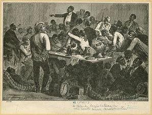 Image result for images freedmen in state legislature reconstruction