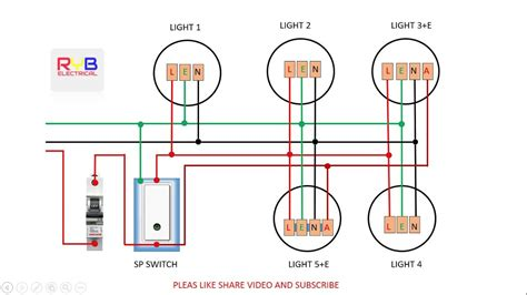 EMERGENCY LIGHT SWITCH WIRING DIAGRAM YOUTUBE