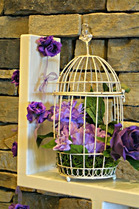 marvinsdaughters purple and gray wedding decor