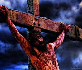 Image result for images jesus suffering on the cross