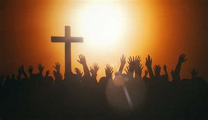 Image result for picture of people praying hands lifted
