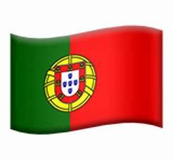 Afbeeldingsresultaten voor portugal vlag emoji