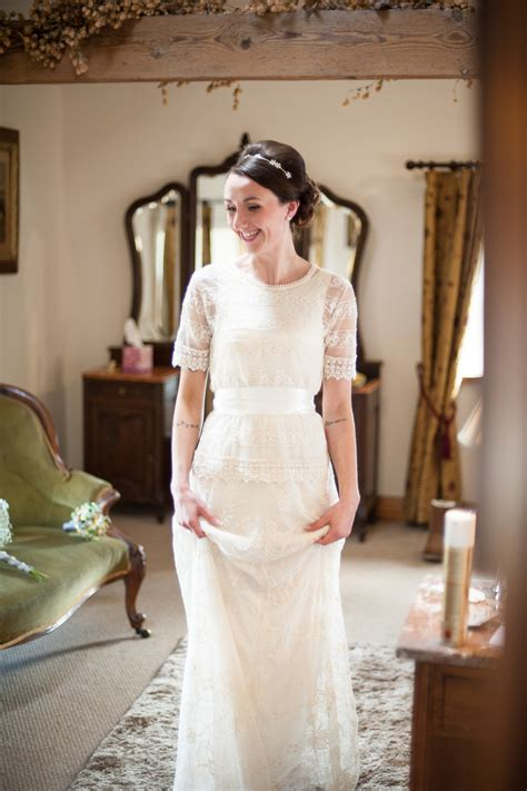 a zara wedding dress for a diy and handcrafted spring