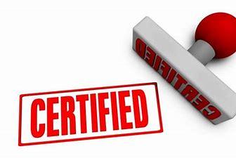 Bildresultat för certifiering