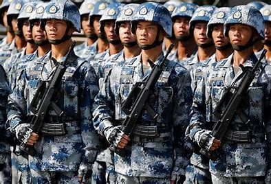 Image result for images of Chinese militray and Navy