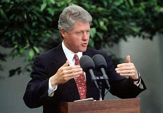 Image result for bill clinton press conference images