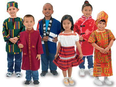 I WOULD LOVE TO HAVE THESE MULTICULTURAL COSTUMES AS WE