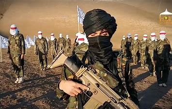 Image result for image taliban militants with rifles