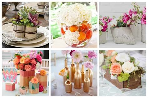 stunning diy wedding centerpieces to make on a budget