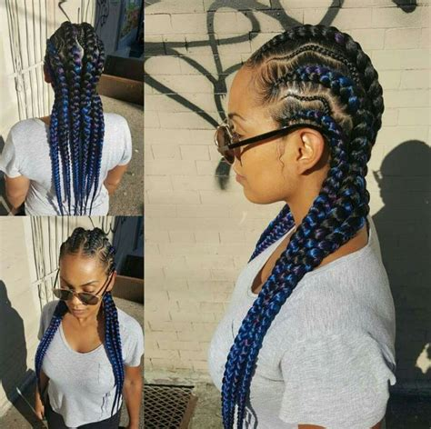 BRAIDS CORNROWS PROTECTIVE STYLE FLIP YOUR HAIR