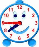 Image result for 7:45 clocks clip art kids