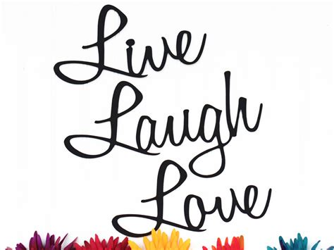 live laugh love wall decor patio decor lake house decor