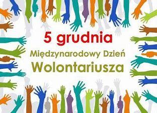 Obraz znaleziony dla: międzynarodowy dzień wolontariusza