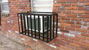 Image result for securing a window air conditioner