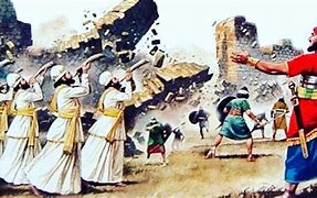 Image result for jericho falls down the bible