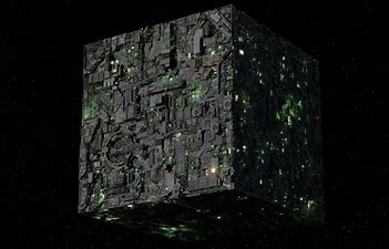 Image result for borg cube