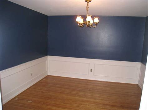 wainscoting home depot with blue walls possible bedroom
