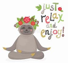 Image result for relaxing sloth