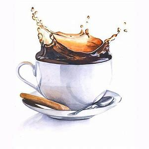 Image result for Coffee Shop Watercolor Illustrations