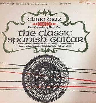 Image result for Alberto Diaz Spanish guitar vanguard