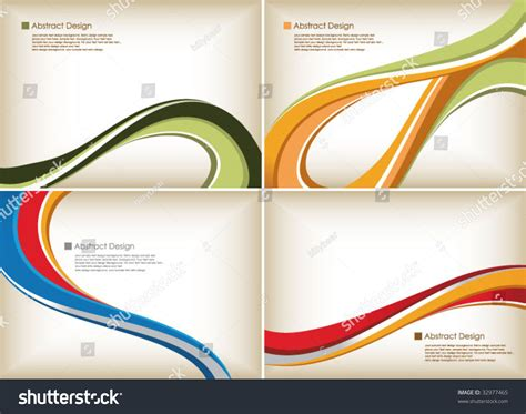 abstract curve background stock vector illustration