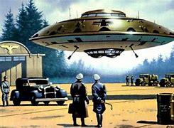 Image result for nazi germans flying saucers